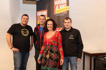 Martin Weinzerl, Markus Gstrein, Sandra Aberer, Andreas Frei.