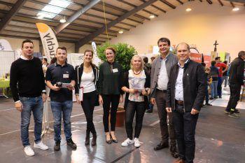 OK-Team der Lehrlingsmesse mit Bgm. Peter Neier.