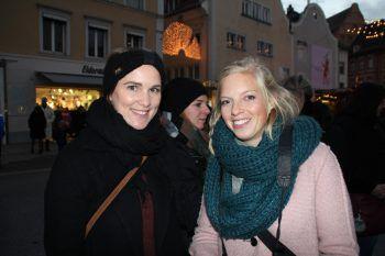 """<p class=""""caption"""">Rebecca Schreier und Christiane Setz.</p>"""