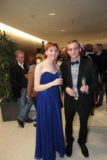 "<p class=""caption"">Sarah und Samuel Wechselberger.</p>"