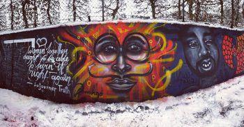 """<p class=""""title"""">               Schwimmbad Götzis             </p><p>""""Die erste legale Graffiti-Wand, die ich und meine damalige Graffiti-Crew 'RTS' in Götzis bekommen haben. Ein großer Bestandteil meiner Karriere, da wir an dieser Wand im Schwimmbad viel Freiraum hatten, um als Künstler zu wachsen – dort habe ich auch mein erstes Porträt gesprüht.""""</p>"""