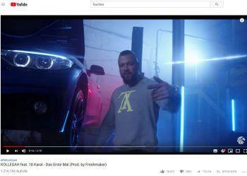 """<p class=""""caption"""">... und Kollegah im Video zu """"Das Erste Mal"""".Foto: Youtube/ALPHA MUSIC EMPIRE</p>"""
