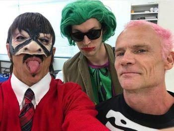 <p>Verrückt: Die Red Hot Chili Peppers posteten ein Foto ihrer Halloween-Kostüme auf Instagram.</p>