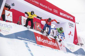 Spannend wird es bei den Wettbewerben am Berg. Foto: Montafon Tourismus GmbH, Stefan Kothner