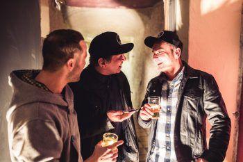 """WANN & WO sprach mit Nani Mock und Daniel """"Malone"""" Traunig über den neuen Club """"Buntergrund"""". Fotos: Sams"""