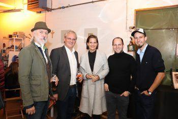 Wolfgang Burtscher, Harald Sonderegger, Martina Ess, Stefan Finzgar und Clemens Walser.Fotos: Franz Lutz