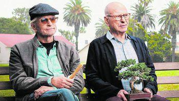 Ziemlich alte Freunde: Sandy Kominsky (Michael Douglas) und Norman Newlander (Alan Arkin).Foto: Netflix