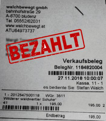 "<p class=""caption"">195 Euro: Margit Tomaselli aus Nüziders. Waldviertler Schuhe.</p>"