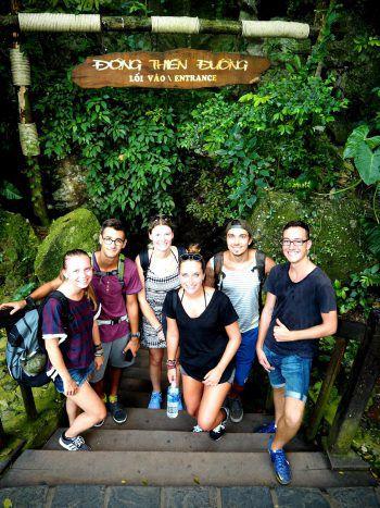 "Atemberaubend: Trekking im Nationalpark ""Phong Nha-Kê Bàng"" in Vietnam."