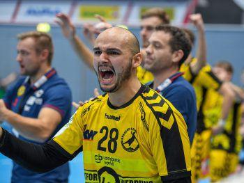 Bregenz Handball möchte am Freitag vor heimischem Publikum einen Sieg einfahren.Fotos: GEPA