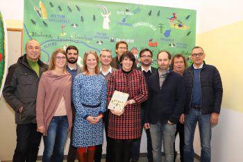 """Das Team der """"Buch-Macher"""". Fotos: Franz Lutz"""