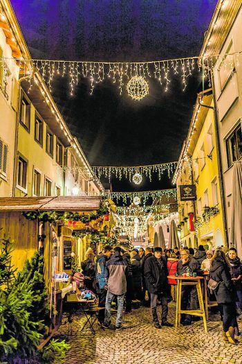 Der Bludenzer Christkindlemarkt ist jedes Jahr ein Highlight für Groß und Klein.
