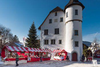 Wo Ist Weihnachtsmarkt Heute.Weihnachtsmarkt Im Schlössle In Götzis Wann Wo