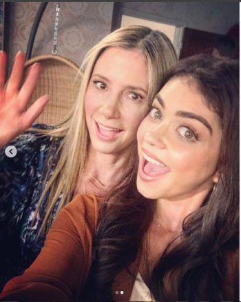 Ashley und Mira beim Spritzfest