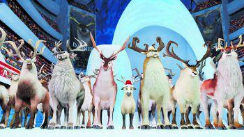 Elliot wollte immer schon Santas Weihnachtsschlitten ziehen. Geht sein großer Traum in Erfüllung?Foto: Splendid Film