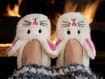 """<p class=""""title"""">               Kuschlige Pantoffeln             </p><p>Perfekt für kalte Wintertage und ein tolles Geschenk sind Pantoffeln, die es in allen Farben und Formen gibt!</p>"""