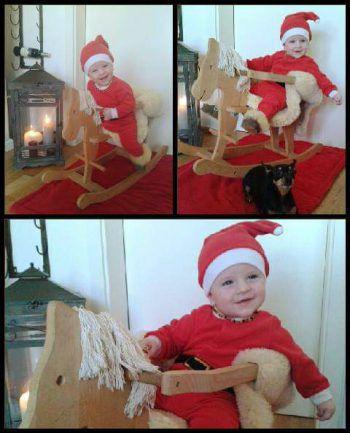 """<p class=""""caption"""">Finn Elias (auf dem Bild 1) aus Dornbirn liebt die Weihnachtszeit.</p>"""