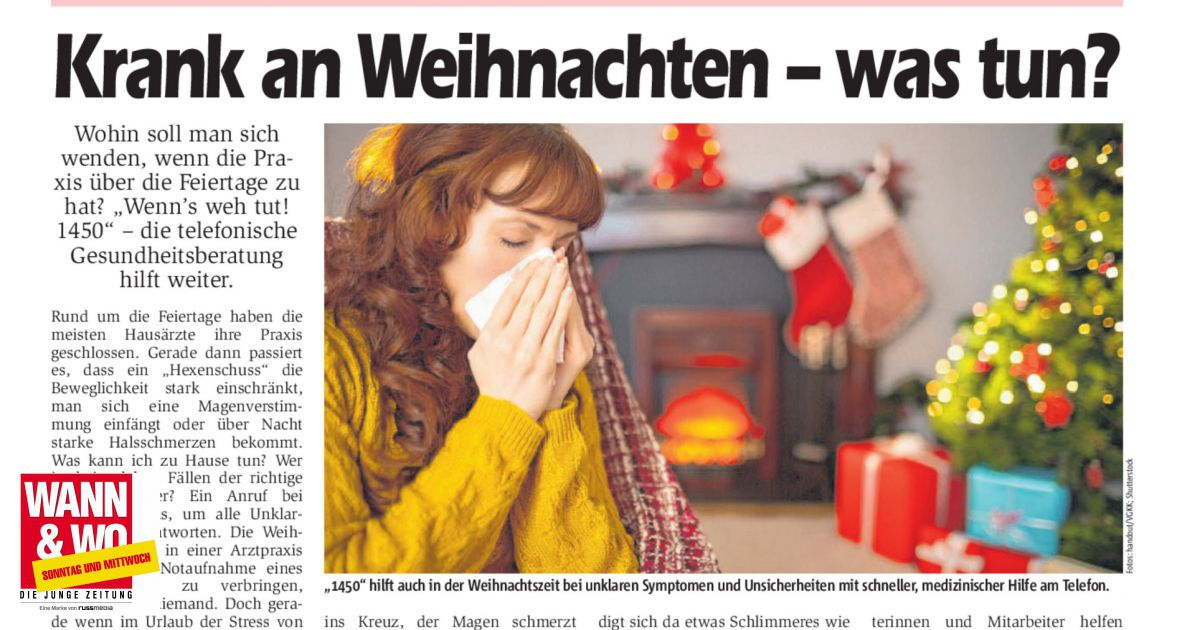 Krank An Weihnachten