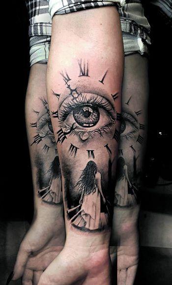 Tattoo-Wünsche, egal welcher Art, werden bei Riverside Ink erfüllt.Fotos: handout/Riverside Ink; Shutterstock