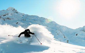 Der Sonnenkopf bietet unvergessliche Skitage für Groß und Klein! Foto: handout/Klostertaler Bergbahnen