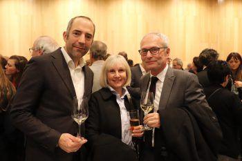 """<p class=""""caption"""">Edgar Eller, Birgit und Anton Steinberger.</p>"""