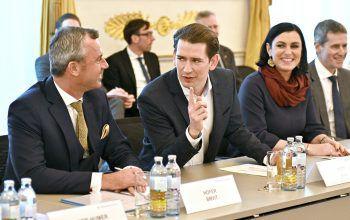 """In Wien kam die Regierung zum""""Plastik-Gipfel"""" zusammen. Foto: APA"""