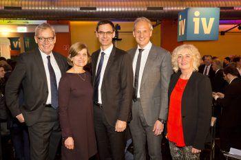 LStH Karlheinz Rüdisser, LR Barbara Schöbi-Fink, LH Markus Wallner, IV-Präsident Martin Ohneberg und LR Katharina Wiesflecker. Fotos: Mathis Fotografie