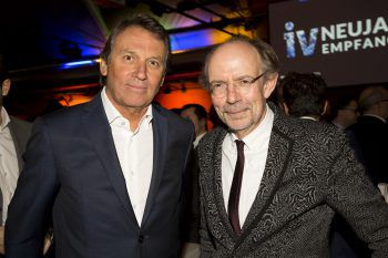 """<p class=""""caption"""">Werner Deuring (WD-Beteiligungen) und Eugen A. Russ (Russmedia).</p>"""