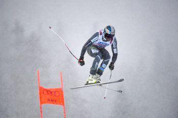 Aksel Lund Svindal katapultierte sich gestern bei schwierigen Wetterverhältnissen auf Platz zwei und holte Silber zum Abschied. Fotos: AFP, APA