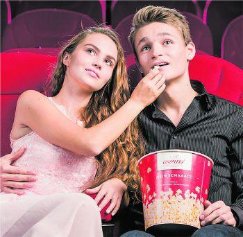 Cineplexx und WANN & WO schicken euch mit euerm Schatz ins Kino.Foto: Cineplexx