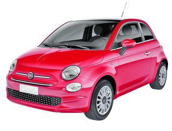 Der Fiat 500 besticht durch seine stylische Ausführung.Fotos: handout/Fiat