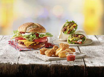 Bei McDonald's geht es derzeit wieder mexikanisch zu.                Fotos: handout/Mc Donalds Vorarlberg