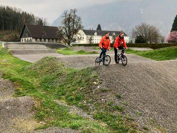 """<p class=""""title"""">               BMX-Sportanlage             </p><p>""""Für uns Rodlerinnen ist die BMX-Sportanlage natürlich auch ein Highlight in der Stadt. Die Anlage ist die einzige mit internationalem Standart im Ländle – hier finden immer wieder toll organisierte Wettkämpfe statt"""", erzählt Katrin.</p>"""