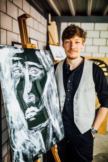 """""""Ich bin kein ausgebildeter Künstler, sondern ein Phantast."""" Die Phantasie spielt in Nikola Bartenbachs Kunst eine große Rolle."""