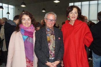 """<p class=""""caption"""">Ingrid Adamer, Ekkehart Bechtold und Bernadette Mennel.</p>"""