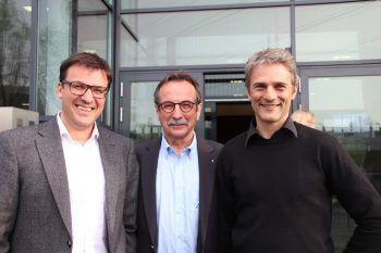 Markus Kaufmann, Walter Eberle und Martin Reis.