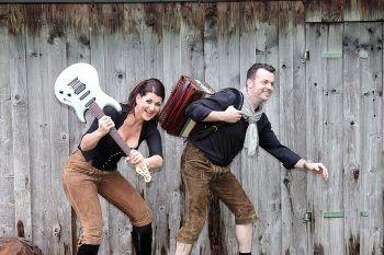 """""""Zündstoff"""" spielen am Samstag beim Osterbock im Schindlersaal in Kennelbach."""