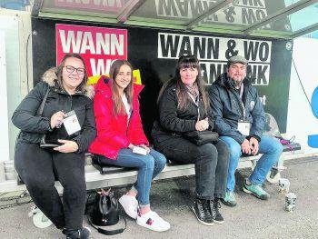Auch die WANN & WO-Fanbankverlosung geht am Samstag ins Saisonfinale.Foto Lutz