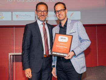 """Im letzten Jahr wurde auch die Henn Industrial Group ausgezeichnet. Wer sichert sich heuer den Titel """"Vorarlbergs erfolgreichstes Familienunternehmen""""?Foto: Sams"""