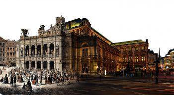 Die Wiener Staatsoper feiert Jubiläum. Foto: handout/Collage: Wiener Staatsoper