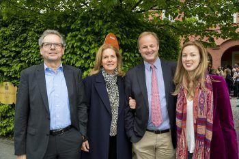 "<p class=""caption"">Johannes Collini, Stephanie, Clemens und Tochter Tatjana Waldburg-Zeil.</p>"