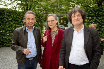 """<p class=""""caption"""">Kurt Oehe und Hanno Loewy mit Gattin.</p>"""