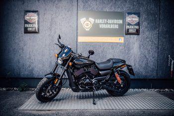 1. Platz: Harley DavidsonDer Mister Vorarlberg 2019 wird mit einer Harley Davidson 750A Street Rod im Wert von 9695 Euro nach Hause fahren!