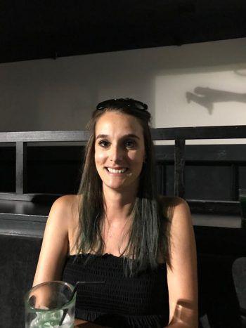 """<p>Christina, 30, Röthis: """"Alleine im Zug fühle ich mich schon unwohl. Ich habe mir deshalb einfach angewöhnt von überall aus mit dem Taxi nach Hause zu fahren.""""</p>"""