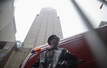 Die New Yorker Einsatzkräfte schlossen einen Terroranschlag aus.Foto: AFP