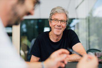 W&W-Redakteur Harald Küng traf Dr. Albert Lingg in Lustenau zum Interview.
