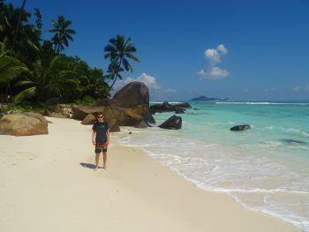 "<p class=""caption"">Finn auf der Silhouette Island (Seychellen).</p>"