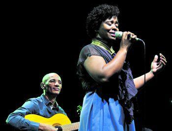 Mit dabei: Dulce & Méka – Cape Verdean Mood mit Interpretationen kapverdischer Musik. Foto: Nos ku Nhos