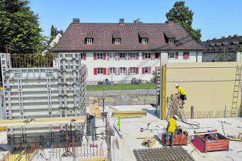 Neue Gruppen- und Nebenräume, Balkone, Garderoben und WCs auch einen großen Bewegungsraum und vieles mehr sind für den neuen Kindergarten geplant. Foto: handout / Stadt Bregenz
