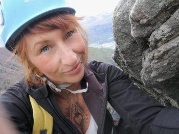 """<p>Nina, 37, Göfis: """"Ich bin gerne in den Bergen unterwegs, da darf es dann auch mal ein Klettersteig sein. Kapf und Kessi in Götzis garantieren eine super Aussicht übers Ländle. Danach Sonnenuntergang an der Millrütte.""""</p>"""
